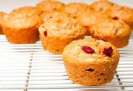 muffins à l'orange sans gluten