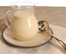 crème anglaise sans lactose