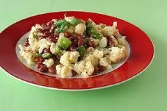 salade de choufleur haricots feta